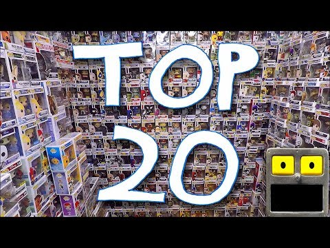 Top 20 Funko Pop Vinyl Figures of 2017