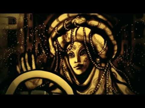 "Sand Art For ""Ferrari"" By Kseniya Simonova - Песочная анимация для ""Феррари"" (Ксения Симонова)"