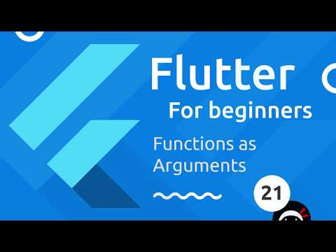 Flutter Tutorial for Beginners #21 - Functions as Parameters