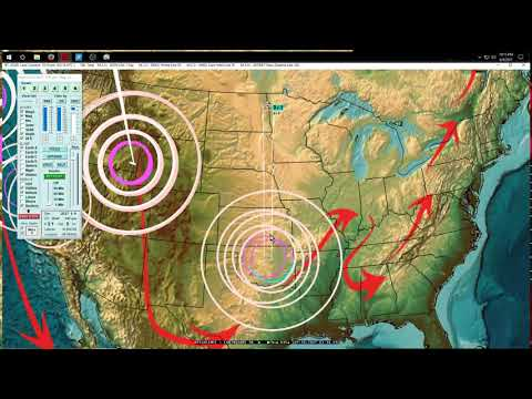 9/09/2017 -- Earthquake Forecast -- West Coast USA be on watch -- Japan + Taiwan at risk - 동영상