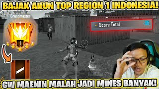 MAIN RANKED PAKE AKUN TOP GLOBAL 1! 24 JAM JADI TOP GLOBAL INDONESIA!