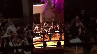 Энрике мариконе однажды в Америке с камерным оркестром в большом концертном зале имени Сайдашева