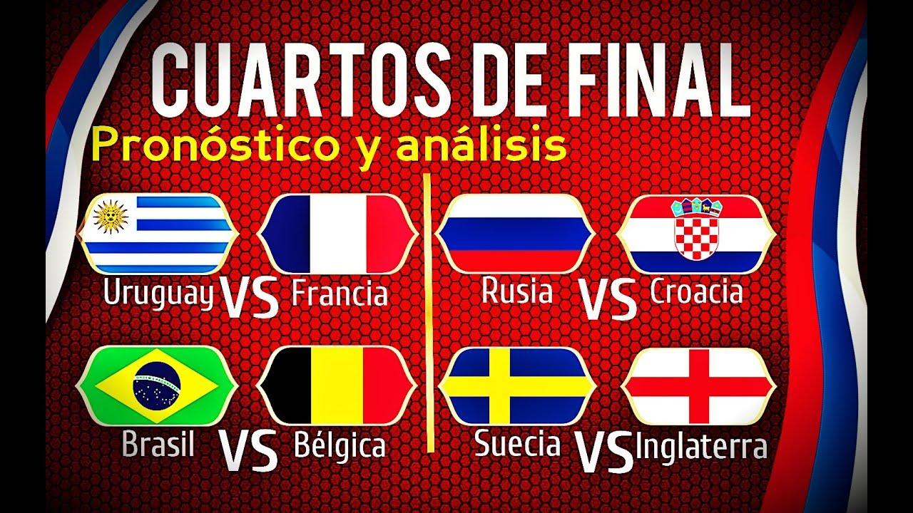Predicción CUARTOS DE FINAL Mundial Rusia 2018 | Análisis y ...