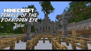 Minecraft: Indiana Jones and the Temple of the Forbidden Eye, Trailer