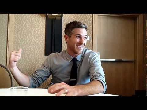 With Dave Annable of ABC's 666 Park Avenue at ComicCon 2012