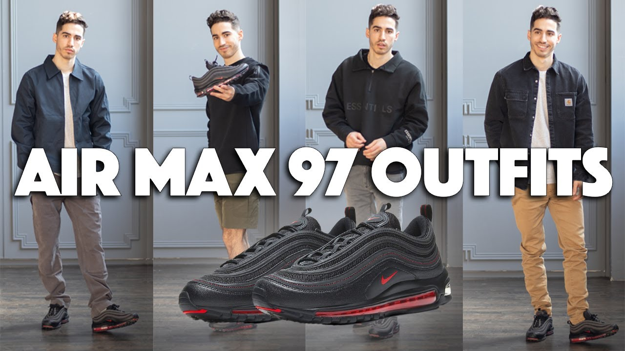 10 ways to wear the AIR MAX 97   Outfit Ideas