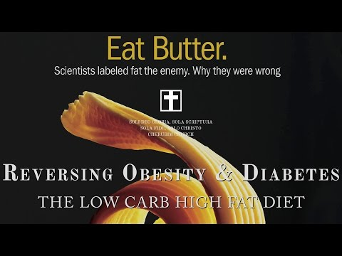 Reversing Obesity & Diabetes - The Low Carb High Fat Diet