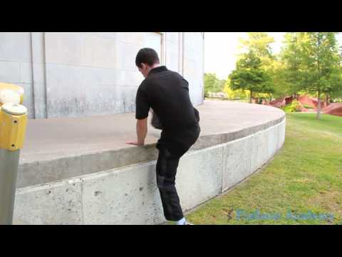 Parkour Academy: Freerunning Flow - Simple Move You Can Do With Any Ledge