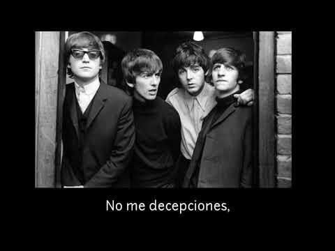 The Beatles  dont let me down  subtitulado al español