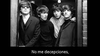 The Beatles - don't let me down ( subtitulado al español )