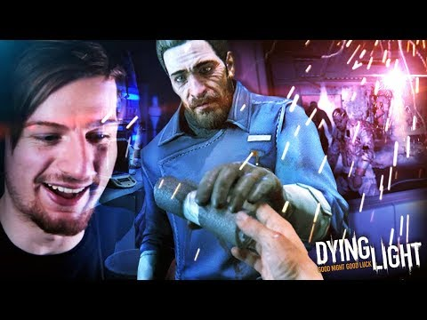 INTO THE UNDERGROUND LABORATORY (+ Meeting Camden!!) || Dying Light (Part 13)
