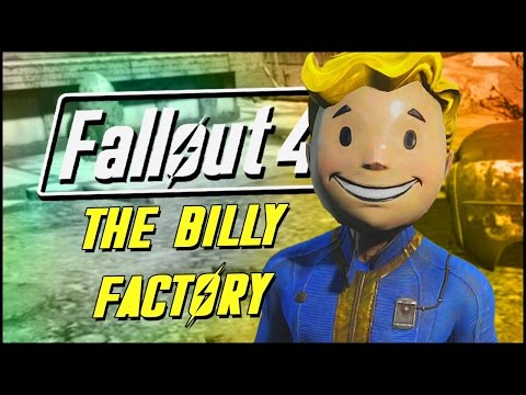 THE BILLY FACTORY! | Fallout 4 Contraptions Workshop DLC |