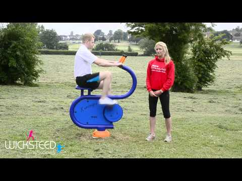 Pedal Cycle - Outdoor Gym Equipment
