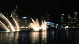 Hero (Español) - Dubai Fountains