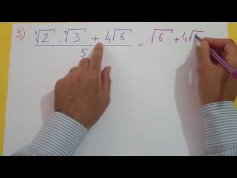 Köklü Sayılar 2 Şenol Hoca Matematik