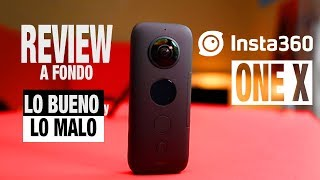 INSTA360 ONE X ESPAÑOL REVIEW A FONDO / LA CAMARA DE ACCION DEFINITIVA