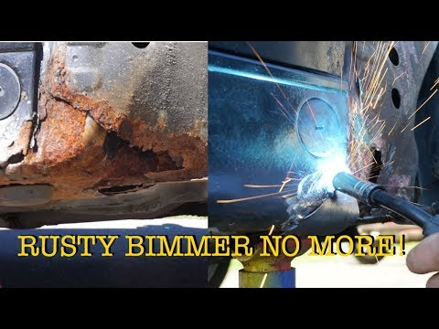 HOW TO FIX A RUSTY BMW E36