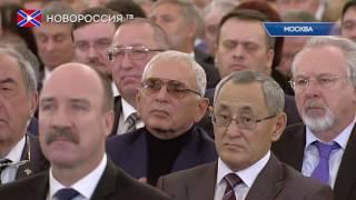 видео Вновь избранный президент РФ Владимир Путин поблагодарил россиян за поддержку