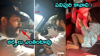 ICON STAR Allu Arjun Long Ride With Wife Sneha Reddy and Daughter Allu Arha | ISPARKMEDIA