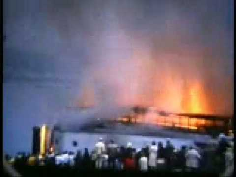 Summerland Fire - Douglas, Isle of man - 1973