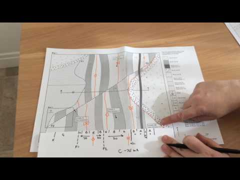 2015 GL2 geological map and cross section