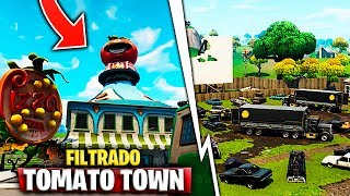 Filtering! Tomato Town And All new secret cities Fortnite Battle Royale