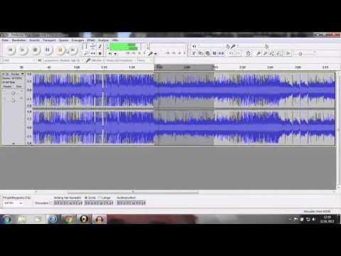 [Tutorial] Audacity - Lieder/Musik schneiden