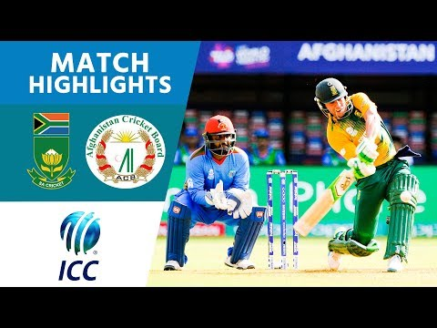 South Africa Hit 209 | Afghanistan vs South Africa | ICC Men's #WT20 2016 - Highlights