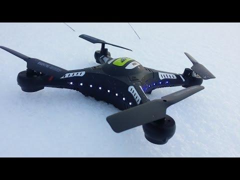 Видео Квадрокоптер jjrc h8c range
