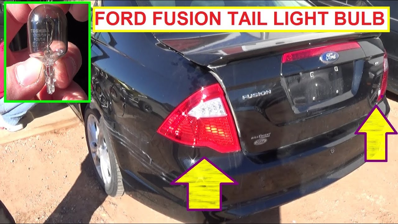 Ford Fusion Brake Light Tail Turn Signal Bulb