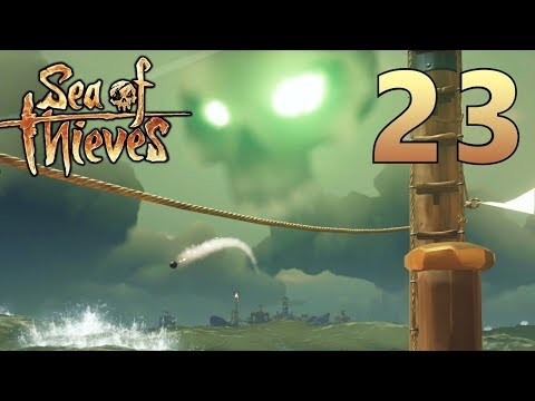 [23] Merchant Alliance and Skull Clouds!!! (Sea Of Thieves Gameplay PC)