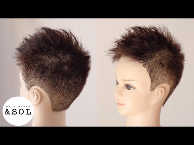 短髪 子供 髪型