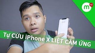 Tự CỨU iPhone X liệt cảm ứng không cần thay màn - Tập 1 - Nhật Ký Review