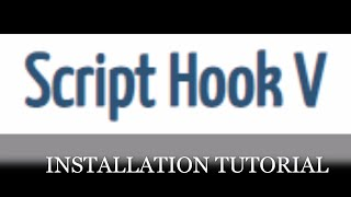 LSPDFR Tutorial How to install New ScriptHookV  with Link