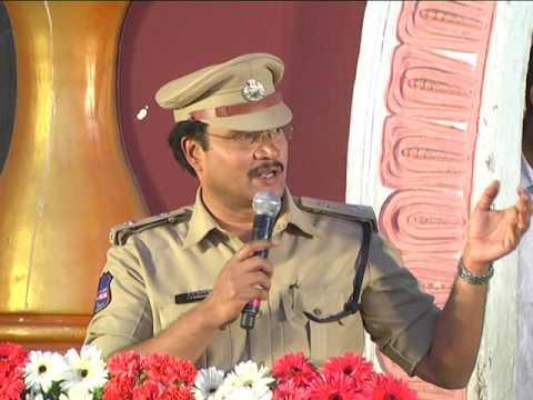 Traffic Awareness program speech by  Sri.AV.Ranganath,IPS DCP Traffic,/PRO HYDERABADPOLICE