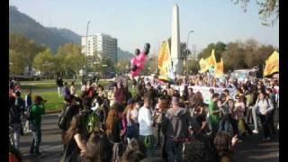 Marcha gay por la diversidad sexual en chile 25/09/2010