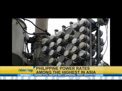 Philippine power rates: Among the highest in Asia