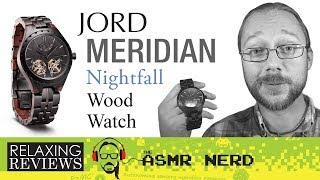 RELAXING REVIEWS | JORD Meridian Nightfall Wood Watch (& Giveaway!)