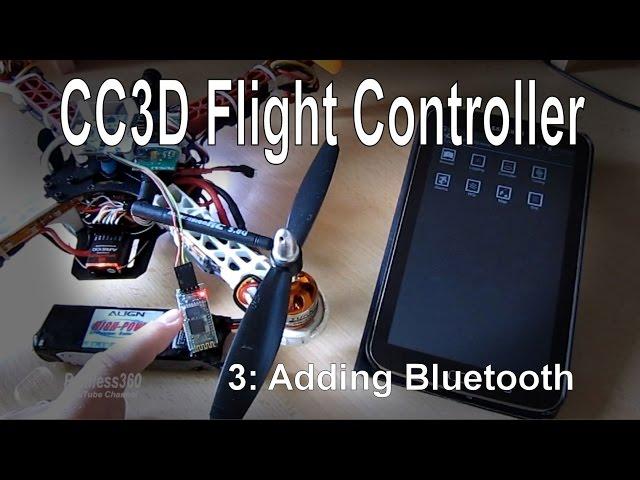 (3/10) CC3D Flight Controller - Adding Bluetooth