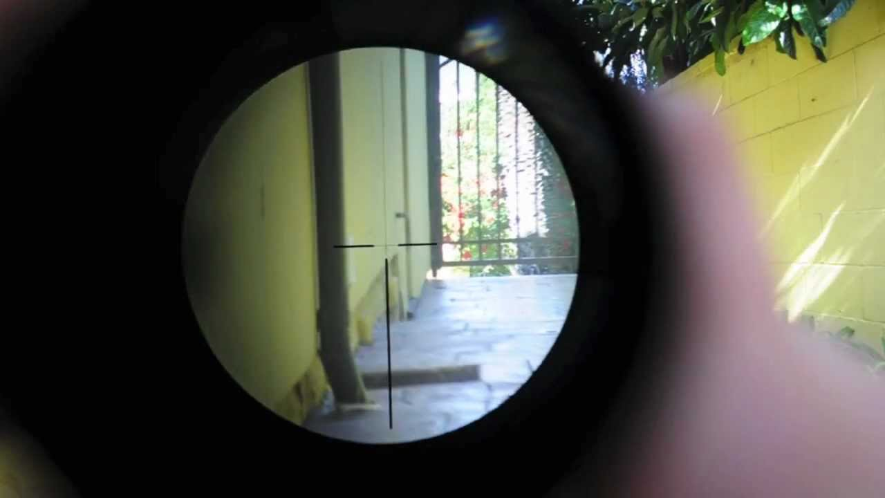 ACM 4x32 ACOG Airsoft Replica Scope YouTube