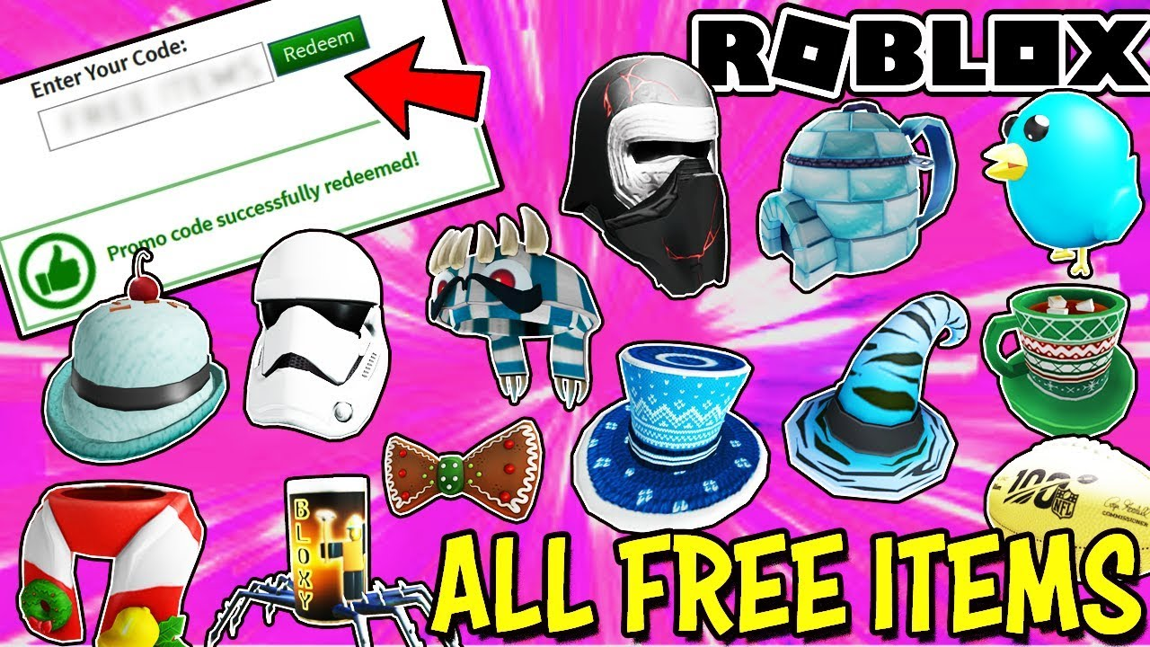 Roblox Codes For Free Stuff 2020