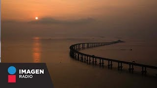 Alista China inauguración del puente marítimo más largo del mundo