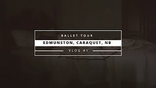 Балетные гастроли на 4 дня! Vlog January 2018