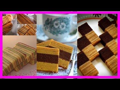 3種 【千層蛋糕 kek lapis 】食譜! 收藏好了!
