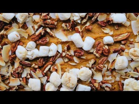 Easy Sweet Potato Casserole • VEGAN THANKSGIVING Recipe