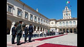 Incontro del Presidente Mattarella con i Reali dei Paesi Bassi