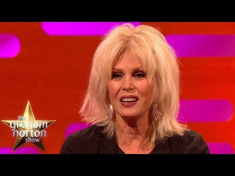 Joanna Lumley Jokes About Her Modelling Career - The Graham Norton Show