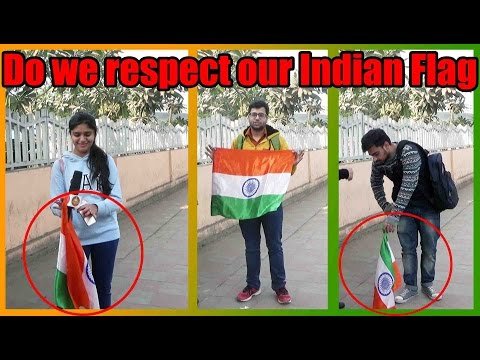 Do we Really Respect our Indian Flag | Republic Day Special | Social Experiment in India | Unglibaaz