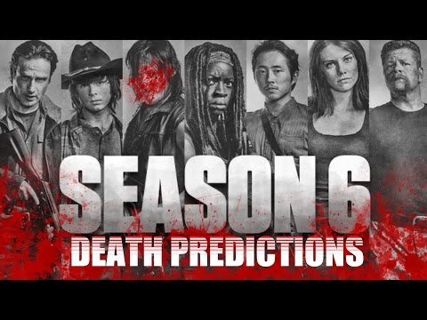 Season 6 & 7 Death Predictions for The Walking Dead TV Series - AMC