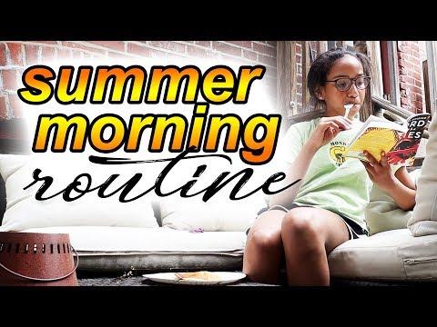 Summer Morning Routine 2018  | Morgan Jean